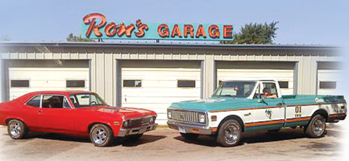 No Slogans, Just Good Work - Ron's Garage